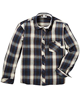 Fenchurch Check Flannel Shirt Regular