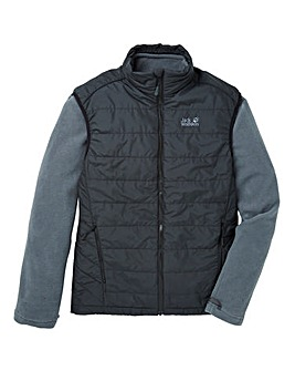 Jack Wolfskin Glendale 3in1 Fleece Gilet