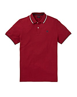 Firetrap Red Ronay Polo Regular