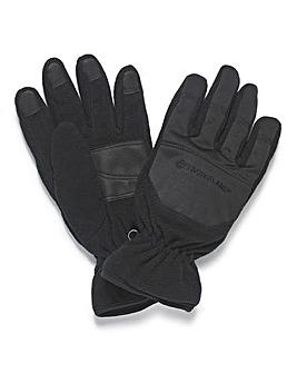 Timberland Black Fleeve Gloves