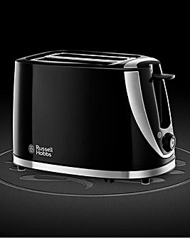 Russell Hobbs Mode 2 Slice Black Toaster