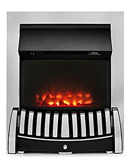 Beldray Almeria Chrome Effect Inset Fire