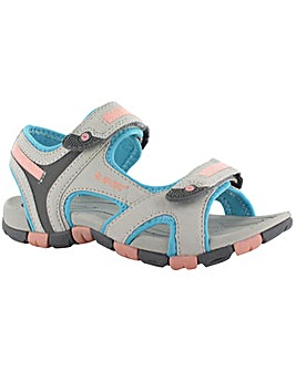 Hi-Tec GT Strap Junior Girls Sandal