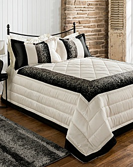 Eleanor Quilted Throwover Single