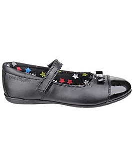 Hush Puppies Jenny Girls Leather Shoe