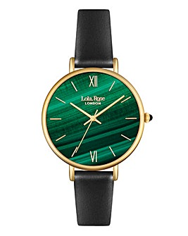 Lola Rose Ladies Green Dial Watch