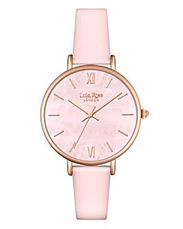 Lola Rose Ladies Pink Dial Watch