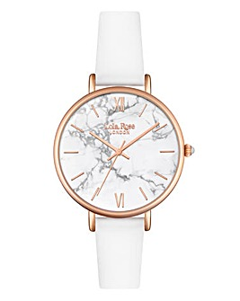 Lola Rose Ladies White Dial Watch