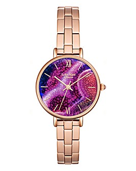 Lola Rose Ladies Purple Bracelet Watch