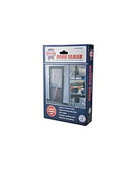 Door Dust Sealer With Zipper