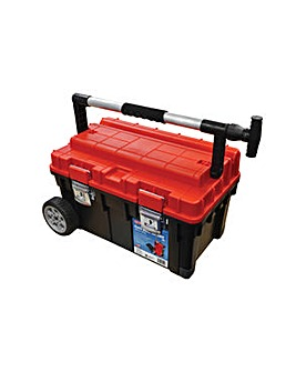 Plastic Toolbox  23in Mobile Vault