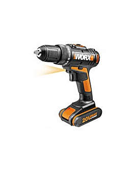Worx Drill Driver with 2 Batteries