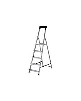 Abru 5 Tread High Handrail Stepladder
