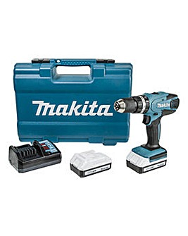 Makita Combi Drill 74Pc Set