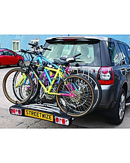 Titan Towball Cycle Carrier for 3 Bikes