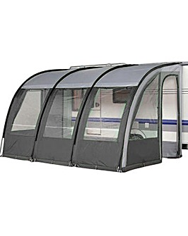 390 Charcoal Ontario Porch Awning