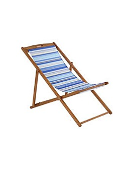 Deck Chair - Blue Striped.