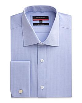 Pierre Cardin LS Herringbone Shirt