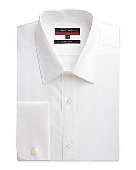 Pierre Cardin LS Satin Stripe Shirt