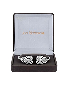 Jon Richard peardrop swirl bangle