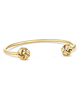 Jon Richard gold knotted bangle