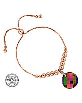 Jon Richard swarovski disc bracelet