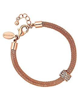 Jon Richard mesh charm bracelet