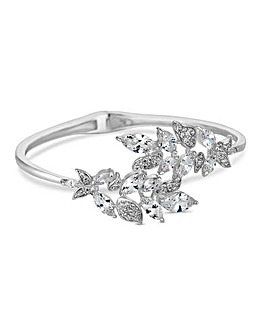 Jon Richard botanical leaf bangle
