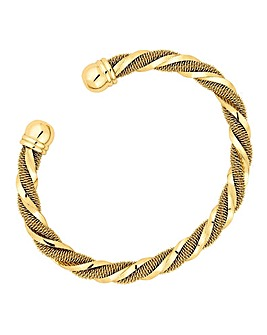 Jon Richard gold twist bangle