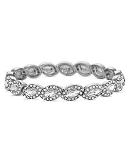 Jon Richard crystal navette bracelet