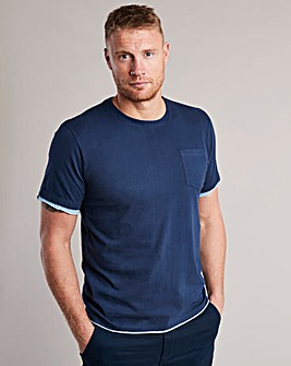 Flintoff By Jacamo T-Shirt Reg