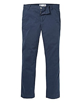 Flintoff by Jacamo Navy Chino 31in