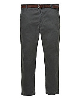 Flintoff by Jacamo Charcoal Chino 33in