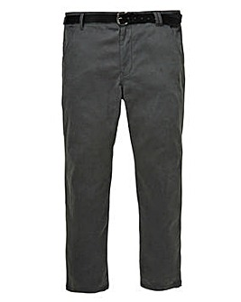 Flintoff by Jacamo Charcoal Chino 29in