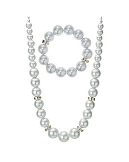 Mood pearl jewellery set