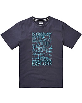 Jacamo Explorer Graphic T-Shirt Long