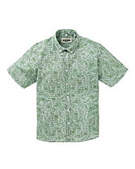 Jacamo Fern Print Shirt Regular