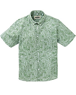 Jacamo Fern Print Shirt Long