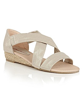 Dolcis Valencia espadrille wedge sandals