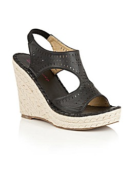 Dolcis Hallie espadrille wedge sandals