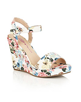 Dolcis Veronica block heel wedge sandals