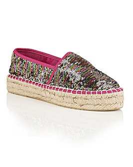 Dolcis Banessa espadrille sequin shoes