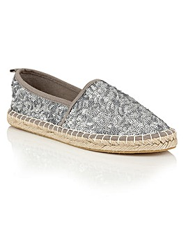 Dolcis Batice espadrille slip on shoes
