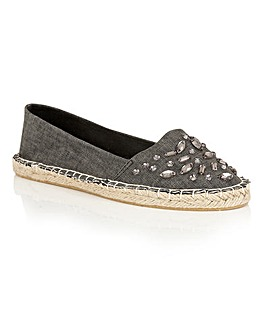 Dolcis Berry espadrille slip on shoes
