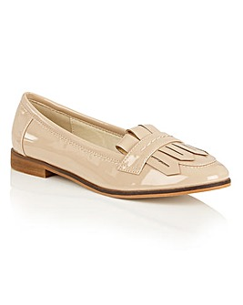 Dolcis Jimmi slip on fringed loafers