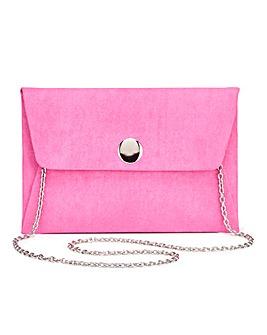 Maddie Pink Clutch Bag