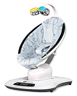 4moms mamaRoo 4.0 Silver Plush