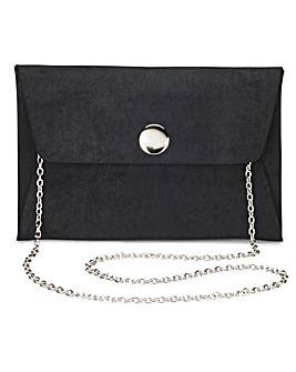 Maddie Black Clutch Bag