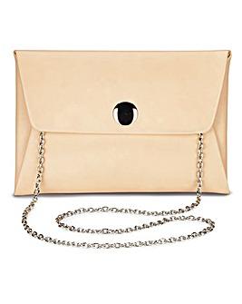 Maddie Nude Clutch Bag