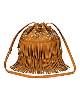Joanna Hope Fringing Shoulder Bag